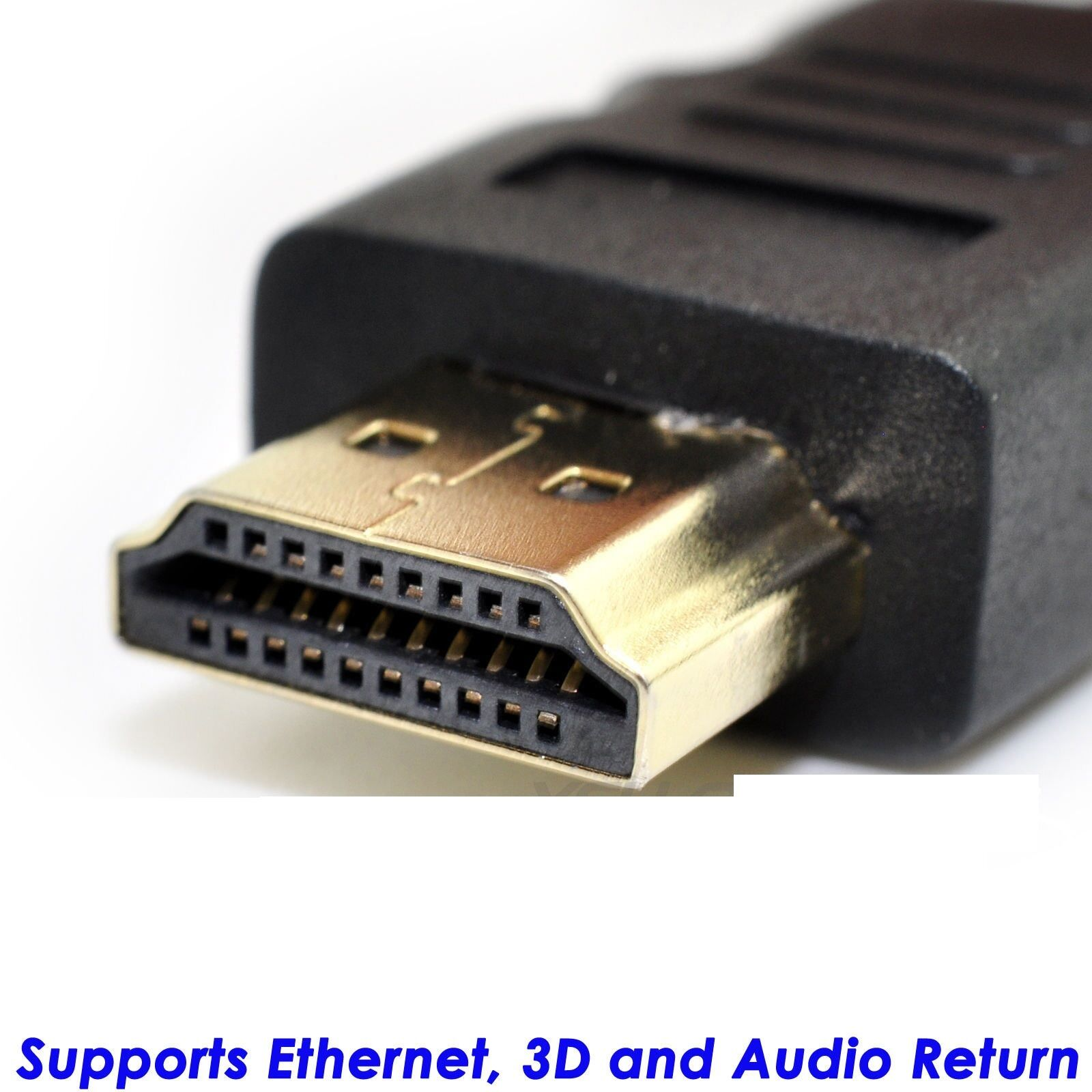 15FT Braided HDMI Cable v1.4 Ultra HD 1080p 3D High Speed wi