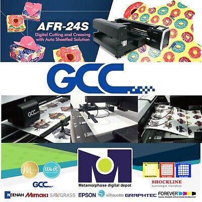 Gcc Afr-24s Cutting And Creasing Sheet Feed Cutter Free Delivery