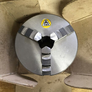 TOS Svitavy 5in 3-Jaw Chuck Mint/New w/ Plain Bison Backplate