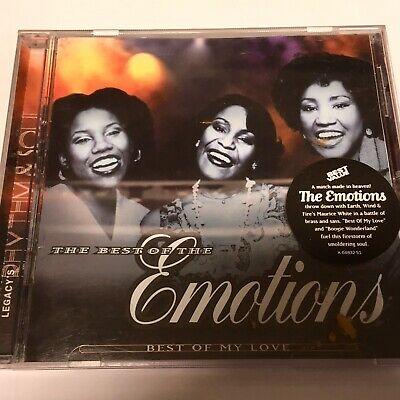 The Best Of The Emotions - Best Of My Love CD NM US RARE Soul R&B 1996 (The Best Of The Emotions)