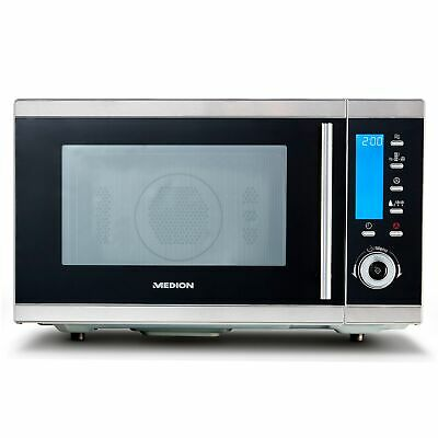 MEDION MD 15501 4in1 Mikrowelle mit Grill Heißluft Ofen 25L 2300W LCD-Display