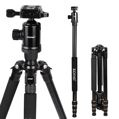 Portable Heavy Duty Aluminium Tripod&Monopod with Ball Head For SLR Camera