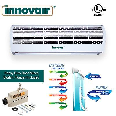 "36"" INNOVAIR 2 Speeds 1475 CFM Indoor Air Curtain Plunger Micro Switch 115V"