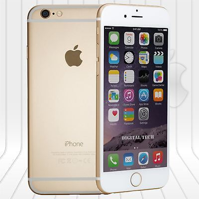 Apple Iphone 6 16GB  FACTORY UNLOCKED PHONE 4G LTE  IOS Gold