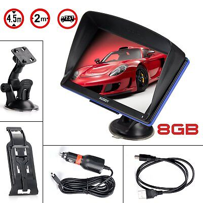 XGODY 886 GPS Navigator for Truck and Car with 7-Inch Touch Screen and US Map ()