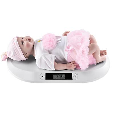 B-WARE Babywaage 20kg Weiß Säuglingswaage Stillwaage Kinderwaage Digitalwaage
