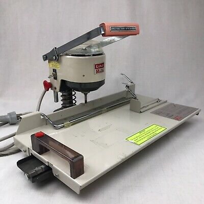 Lihit Motorized Paper Drill - Auto Punch Model Lhp-2001aa-six Paper Punch