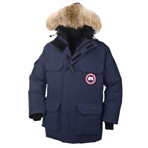 Canada Goose Men's Expedition Parka Navy / Small
