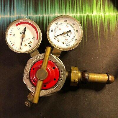 Smith 30-15-510 Acetylene Regulator Single Stage Cylinder Reg Usa