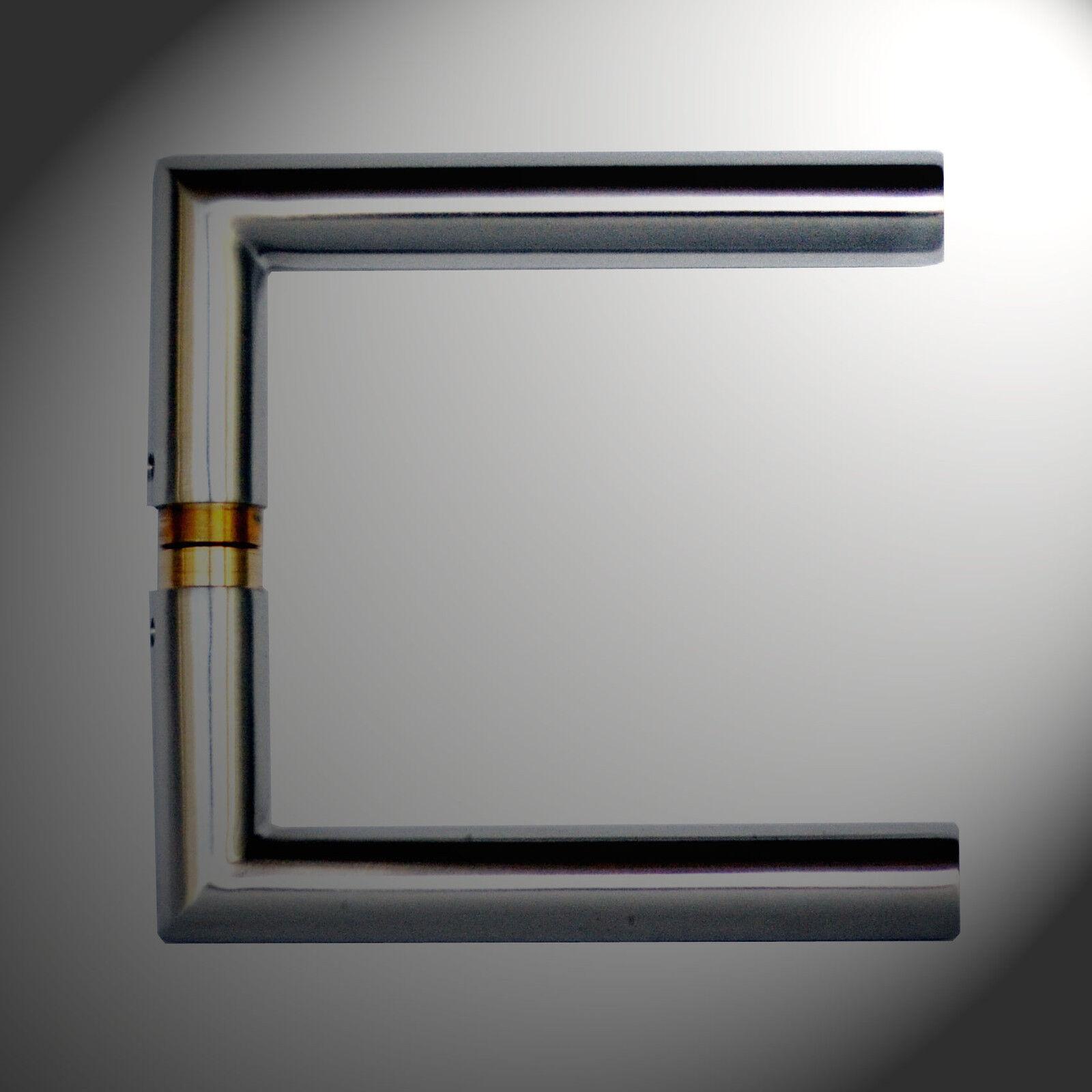 edelstahl glast r beschlag b nder schloss dr cker. Black Bedroom Furniture Sets. Home Design Ideas