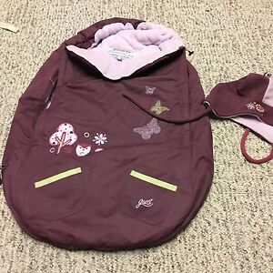 Baby Car Seat Winter Snowsuit with Hat