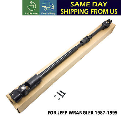 Fits For Jeep Wrangler 1987-1995 Lower Intermediate Steering Shaft 52007017 US ()