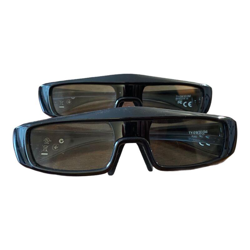 Panasonic TY-EW3D3MU Active 3D Glasses - Two Pairs