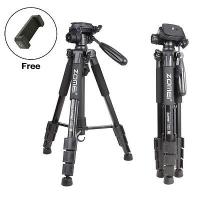 ZOMEI Q111 Pro Aluminum Portable Travel Tripod Pan Head For DSLR Camera