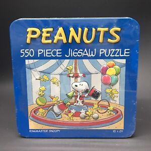 Peanuts 550 piece Puzzle in  Tin Box