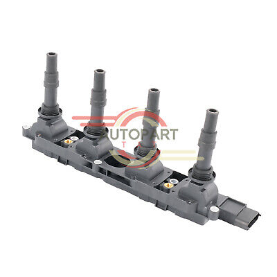 Engine Ignition Coil Pack Vauxhall Astra mk4 Vectra B C Zafira Opel Signum 1.8