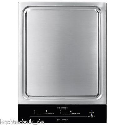 ᐅ ORANIER Grill TY 2738 SL+ TEPPAN YAKI Stahl-Grillplatte Induktion Teppanyaki