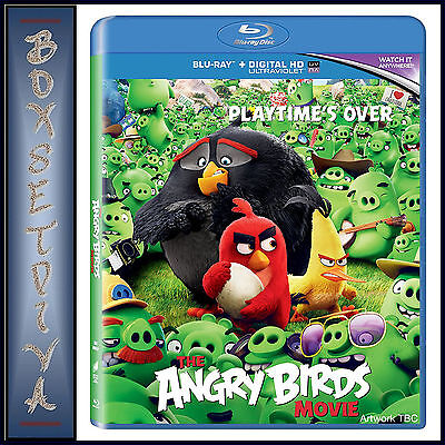 THE ANGRY BIRDS - THE MOVIE **BRAND NEW BLURAY- REGION FREE**