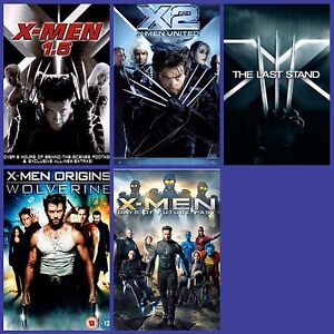 5  X-MEN Dvd's... $20 Firm For All Together.