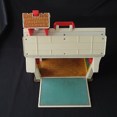 Fisher Price Little People Play Family School House 923 Vintage Bell Works