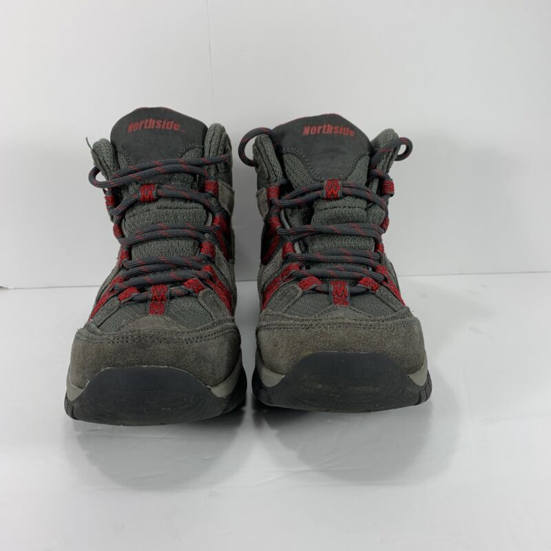 Boys Northside Freemont Waterproof Hiking Boots Brown Suede Size 2