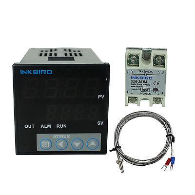 Itc-106vh Digital Pid Temperature Controller K Sensor 25 Ssr Fahrenheit Temp