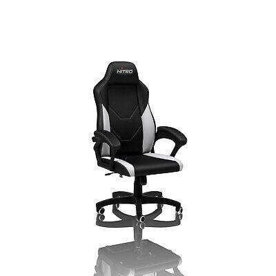 Nitro Concepts C100 Gaming Chair - Black/White