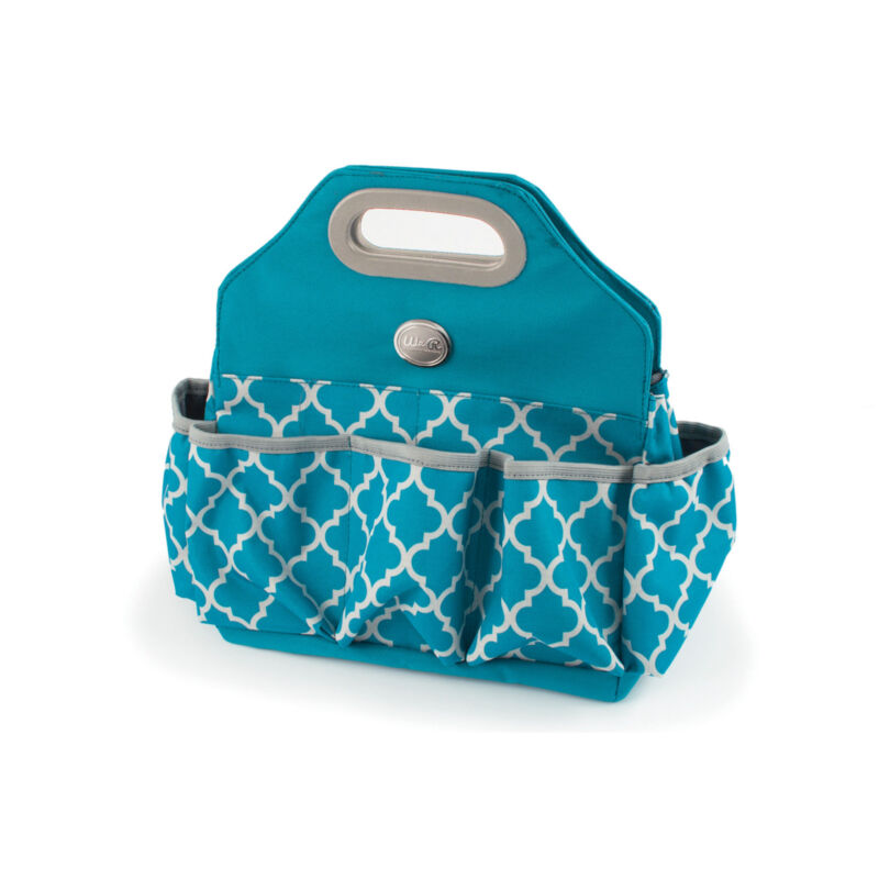 American Crafts We R Memory Keepers Crafters Tote Bag - 100% Polyester, Aqua