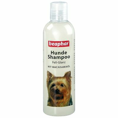 Beaphar 250 ML Dog Shampoo Coat Shine Dog fur Care Shampoo Skin Care