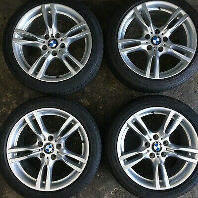 BMW 3 4 SERIES 18 INCH 400M STAGGERED M SPORT ALLOY WHEELS WITH TYRES 7845881 1
