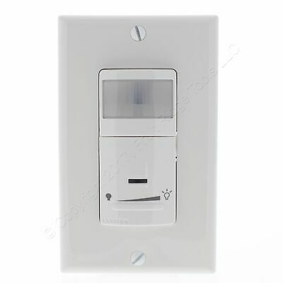 New Leviton White Dimming Motion Sensor 1-pole3-way Switches Onoff Ipsd6-odw