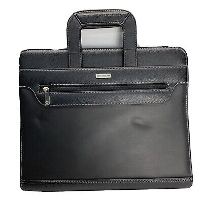 Franklin Covey 3-ring Plannerorganizer Zippered Binder With Handles Calculator