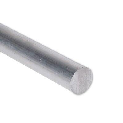 78 Diameter 6061 Aluminum Round Rod 12 Length T6511 Extruded 0.875 Inch Dia