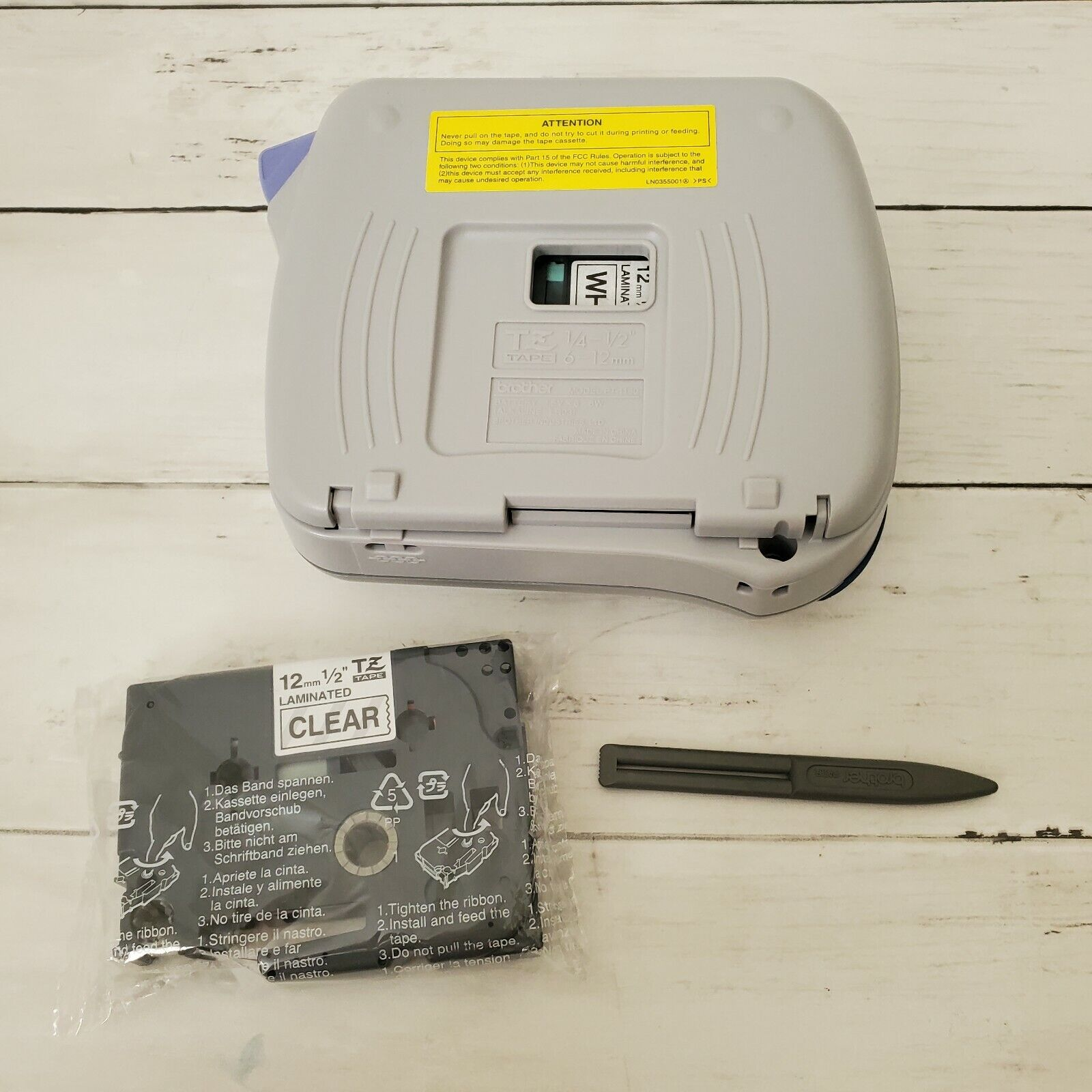 Brother PT-1180 Label Maker Handheld Thermal With 1 New Tape - $19.99