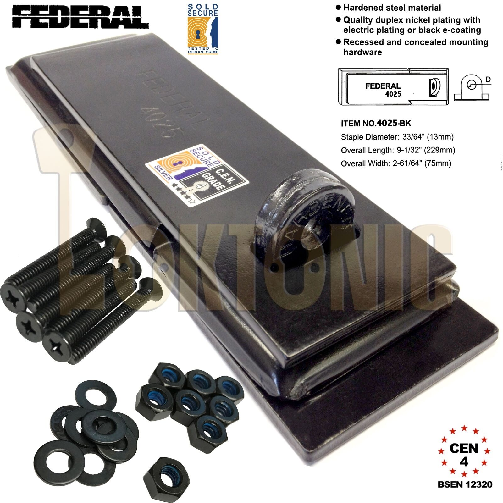 federal fd4025 sichere verkauft silber cen 4 schwer dienst schuppen garage tor ebay. Black Bedroom Furniture Sets. Home Design Ideas