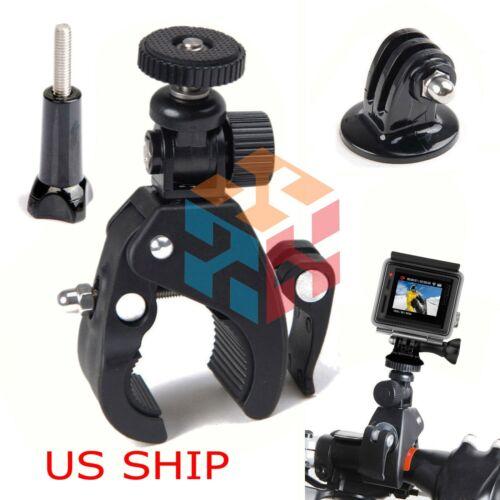 Bike Handlebar MOUNT for Gopro Hero 6 5 4 3 HD Camera Seatpost Pole Roll Bar