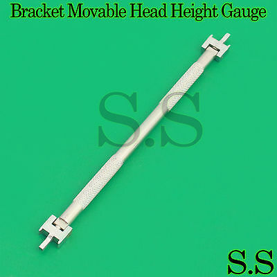 New Dental Bracket Movable Head Height Gauge Orthodontic Instrument