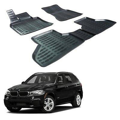 SCOUTT Exclusive Floor Liners Mats All Weather For BMW X5 E70 2007 2013 4pcs set