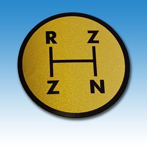 Aufkleber Schaltschema Deutz 06 Baureihe R Z Z N 011458 Foto 1