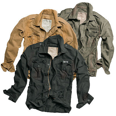 Surplus Heritage Vintage Giacca Field Jacket Giacca Campo US m65 Ranger S-XXL