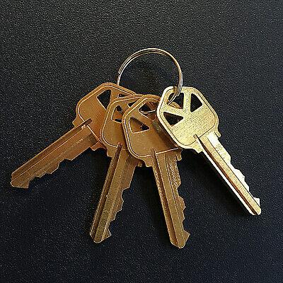 4 Kwikset Kw1 House Keys Cut By Code Or Random 5-pin Key - Free Ship Tracking