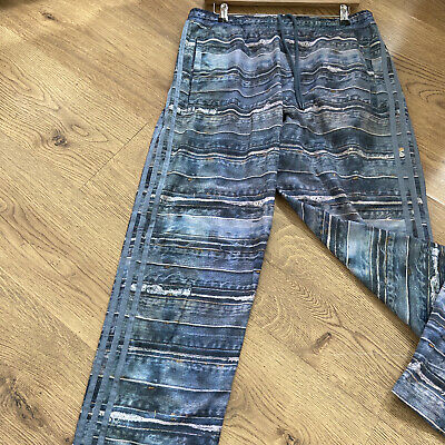 Jeremy Scott Adidas Jean Print Trousers Mens Size L
