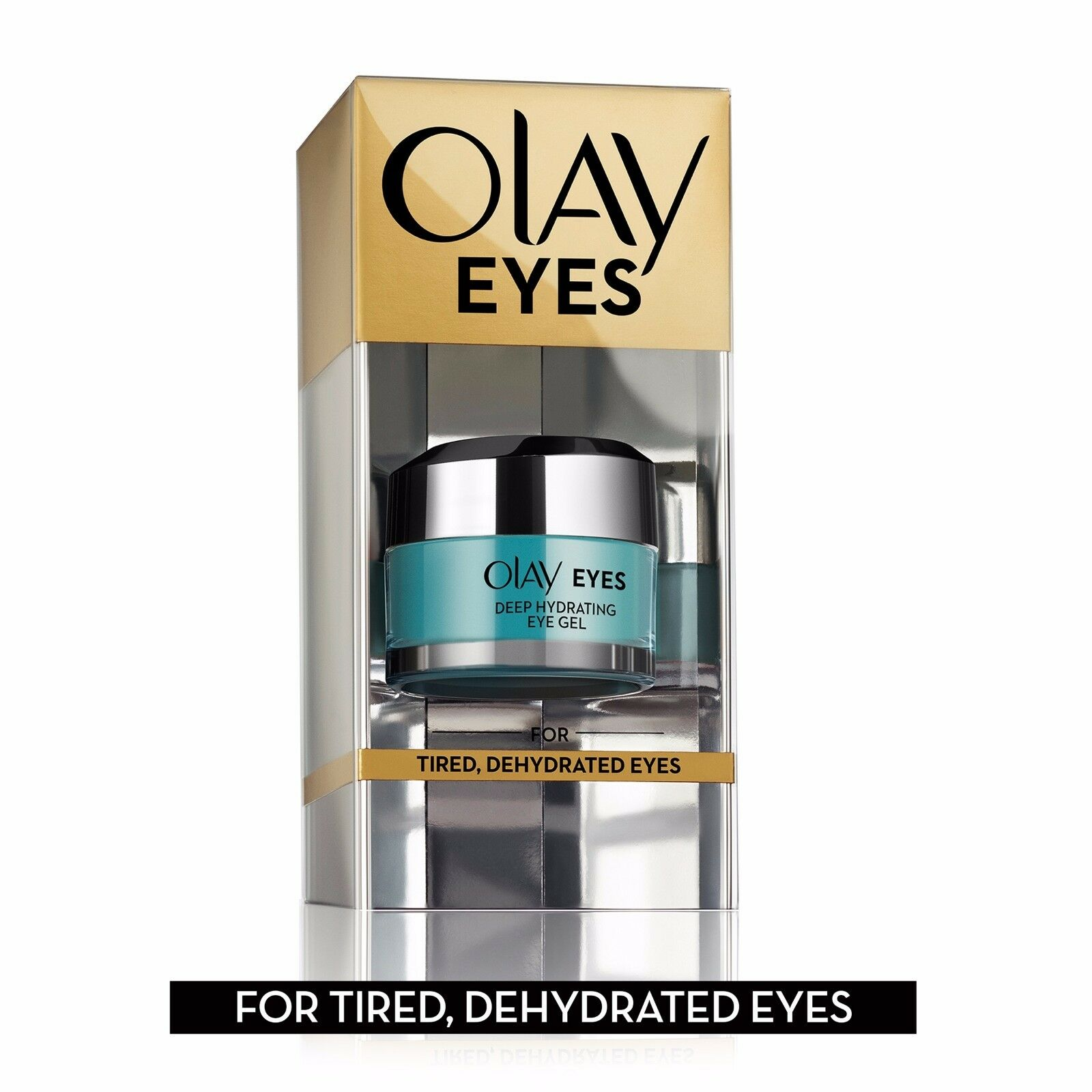 Olay Eyes Deep Hydrating Eye Gel with Hyaluronic Acid, 0.5 f