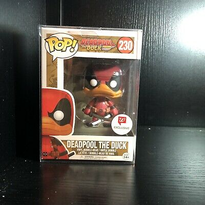 Funko Pop Deadpool The Duck #230 Vinyl Figure w/protector