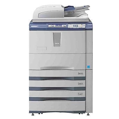 Toshiba E-studio 756 A3 Mono Laser Copier Printer Scanner Mfp 75 Ppm 556 656 856