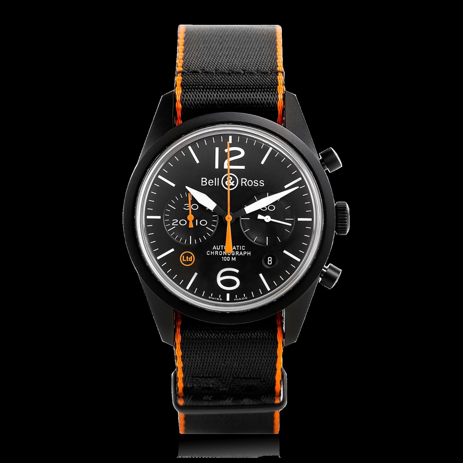 Bell & Ross BRV126-O-CA Men's Watch - watch picture 1