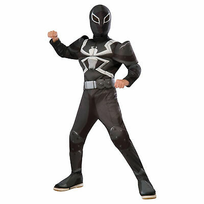 Marvel Comics Ultimate Spider-Man Agent Venom Child Costume - Ultimate Comics Spider Man Kostüm