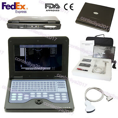 Usa Fedexdigital Ultrasound Scanner Portable Laptop Machine 3.5 Convex Probe