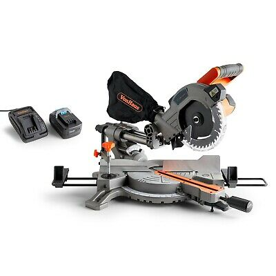 VonHaus Cordless Mitre Saw Sliding with 185mm Blade 20V MAX
