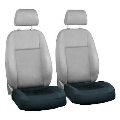 Schwarze Sitzbezüge nur untere Teil passen zu allem MERCEDES Autos - Vorne